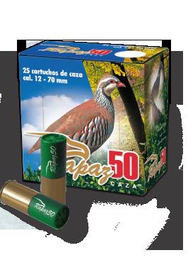Cartucho caza modelo Rapaz 50